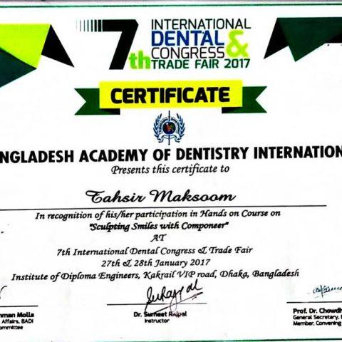 Bangladesh Academy Of Dentistry International
