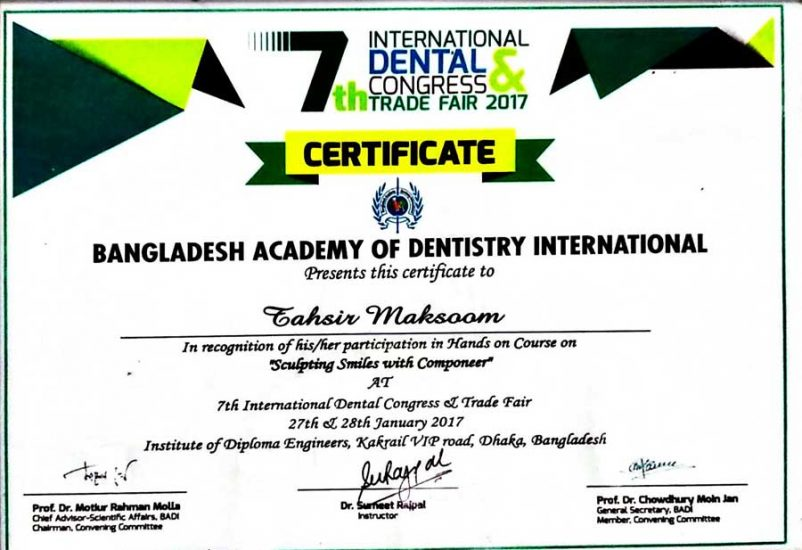 Bangladesh Academy Of Dentistry International